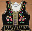 Embroidered vest from Mogilany
